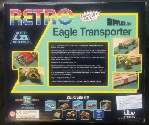 Space 1999 Retro 1975 Eagle Transporter Diecast Model